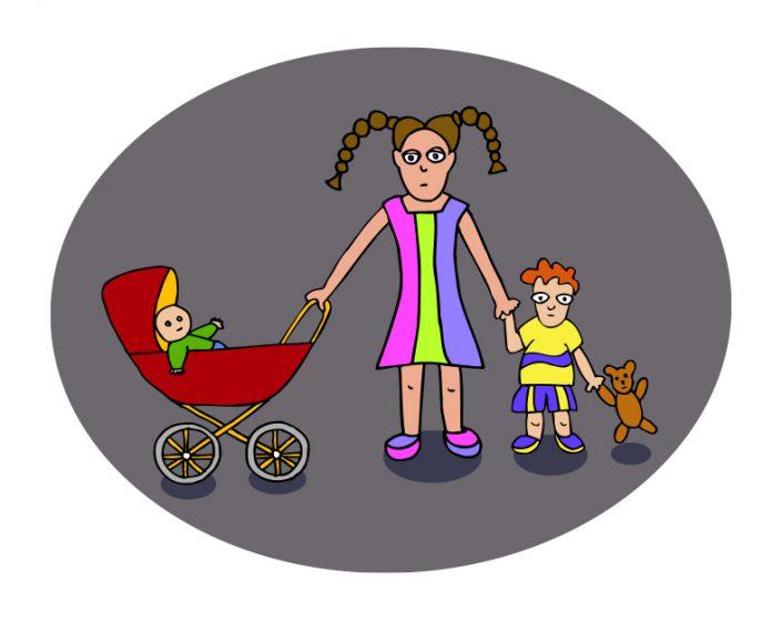 Illustratie voor kinderopvang, ook animatie in Flash- Creatieve bureau © Copyright CasarinDesign